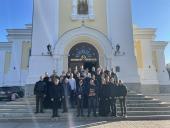 Житомир відвідали студенти Київської духовної семінарії.