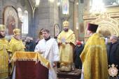 Неділя про блудного сина! Митрополит Никодим звершив Божественну літургію та священицьку хіротонію у Спасо-Преображенському кафедральному соборі!