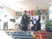 Священик привітав жителів с. Скаківки з 425-м ювілеєм села!