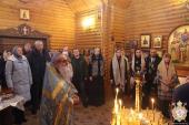 Митрополит Никодим звершив Божественну літургію у храмі на честь святих благовірних князя Петра та княгині Февронії!