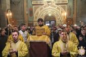 Прощена неділя. Богослужіння та Вечірня з чином прощення у Спасо-Преображенському кафедральному соборі!