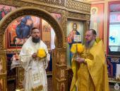 Митрополит Никодим звершив Божественну літургію у храмі на честь праведного Никодима у Житомирському єпархіальному управлінні.