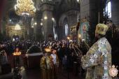 Недільне богослужіння у Спасо-Преображенському кафедральному соборі м. Житомира!