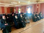 У приміщенні Житомирського єпархіального управління пройшли збори благочинних.