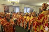 В день пам'яті святої преподобномучениці Анастасії Римлянині митрополит Никодим очолив святкову Божественну літургію в Свято-Анастасіївському жіночому монастирі!