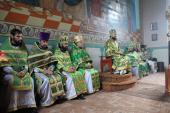 Митрополит Никодим очолив Божественну літургію у Свято-Георгієвському храмі с. Піски!
