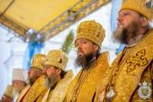 Митрополит Никодим взяв участь у торжествах з нагоди 7-ї річниці інтронізації Предстоятеля Української Православної Церкви!