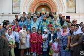 У Житомиирській єпархії вшанували Тригірський чудотворний ораз Божої Матері
