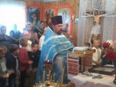 З молитвою і благословенням вступають у новий навчальний рік школярі села Половецького!
