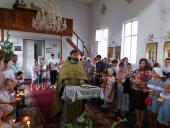 Традиційний щорічний молебень перед початком нового навчального року звершили у Свято-Димитрівському храмі смт Гришківців