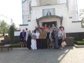 Парафіяни Свято-Димитрівського храму смт Гришківців здійснили паломницьку поїздку до Свято-Успенської Почаївської Лаври.