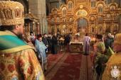 Божественна літургія в день Неділі Торжества Православ`я у Спасо-Преображенському кафедральному соборі!