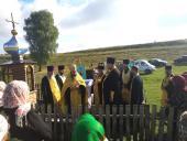 Соборний молебень про дарування дощу у селі Бистрику