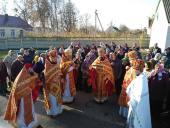 У селі Левків з нагоди храмового свята була відслуженна Божественна літургія!