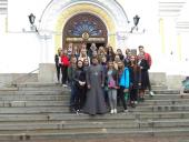 Студенти факультету економіки та менеджменту відвідали Спасо-Преображенський кафедральний собор у м.Житомирі!