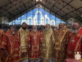 Білорусія. Митрополит Никодим взяв участь у богослужінні та святкових заходах в місті Туров.