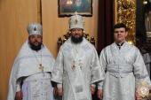 У Неділю 7-му після Пасхи митрополит Никодим очолив Божественну літургію у кафедральному соборі.