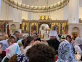Під час візиту в Іспанію Митрополит Никодим звершив Божественну літургію у храмі святої Марії Магдалини у Мадриді!