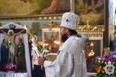 Митрополит Никодим звершив Божественну літургію у кафедральному соборі м. Новоград-Волинський.