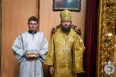 У неділю четверту після П'ятидесятниці митрополит Никодим звершив Божественну літургію у Спасо-Преображенському кафедральному соборі міста Житомира.