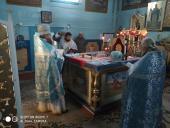 Престольне свято парафії Різдва Богородиці села Жолобне.