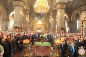 Житомир. Митрополит Никодим очолив літургію в честь свята Входу Христового у Єрусалим!