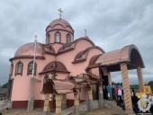 Митрополит Никодим відвідав Вільхівський Спасо-Покровський монастир та звершив освячення часовні для читання Псалтиря!
