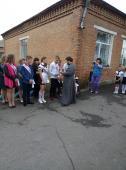 Священик благословив випускників Великоп'ятигірської школи у добру путь