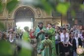 У день свята П'ятидесятниці Житомирський архіпастир очолив літургію та Вечірню у кафедральному соборі!