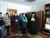 Зустріч священика з вихованцями школи-інтернату напередодні Дня Святого Миколая