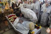 Правлячий архієрей очолив заупокійну літургію та чин похорону протоієрея Ігоря Пєшко!