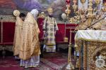 Божественна літургія в кафедральному соборі у Неділю двадцять п'яту після П'ятидесятниці.