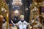 У неділю про Закхея митрополит Никодим звершив Божественну літургію у Спасо-Преображенському кафедральному соборі міста Житомира.