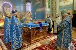 У Свято-Успенському архієрейському соборі розпочались урочистості з нагоди шанування чудотворного образу Божої Матері Подільської!
