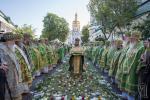 Митрополит Никодим взяв участь у святковій літургії в Києво-Печерській Лаврі та привітав Предстоятеля УПЦ із Днем Ангела!