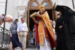 Житомиряни провели ковчег із чесними мощами святих священомученика Киприяна та мучениці Іустини!