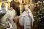 РіздвоГоспода Бога і Спаса нашого Ісуса Христа: Божественна Літургія у Свято-Троїцькому храмі м. Бердичева