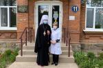 Митрополит Никодим привітав лікарів інфекційного відділення першої міської лікарні Житомира із Воскресінням Христовим!