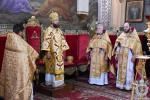 У неділю сьому після П'ятидесятниці митрополит Никодим звершив Божественну літургію у Спасо-Преображенському кафедральному соборі міста Житомира.